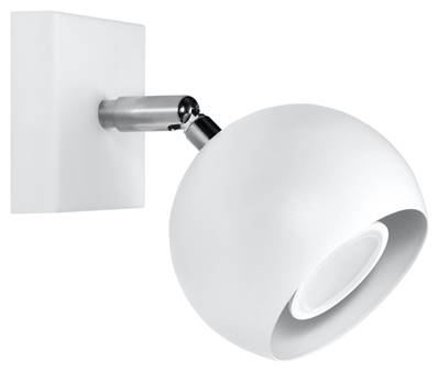 Applique Murale OCULARE blanc Sollux Lighting SL0437