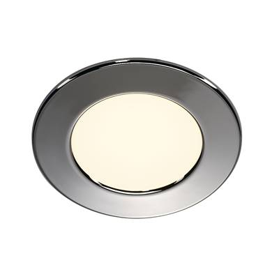 DL 126 LED, encastré rond, chrome, 2,8W LED 2700K, 12V SLV