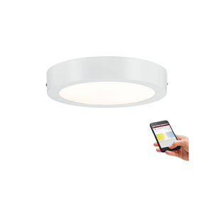 Plafonnier LED variable blanc chaud à blanc froid Nox 10.5W PAULMANN 50008