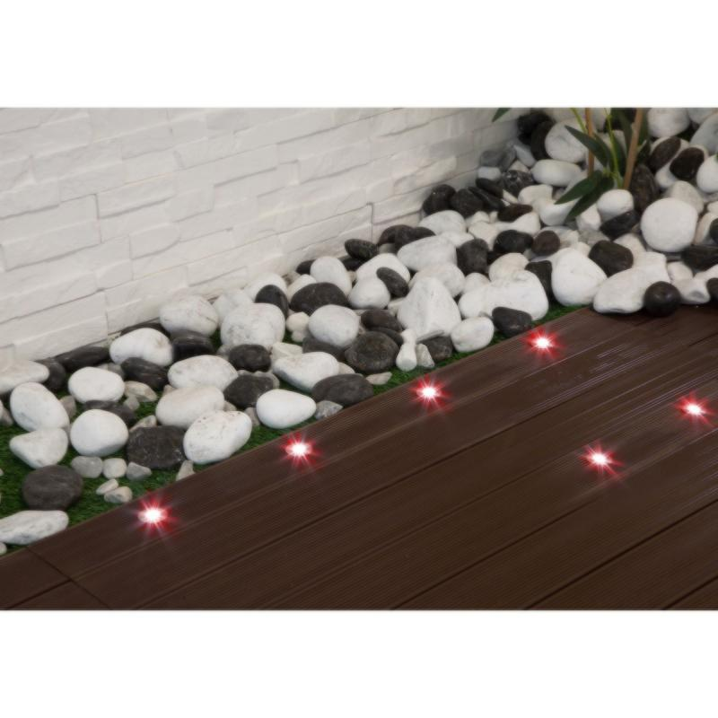 spot terrasse piscine rgb 12v led ip67 kit de 6 spot led rgb. Black Bedroom Furniture Sets. Home Design Ideas