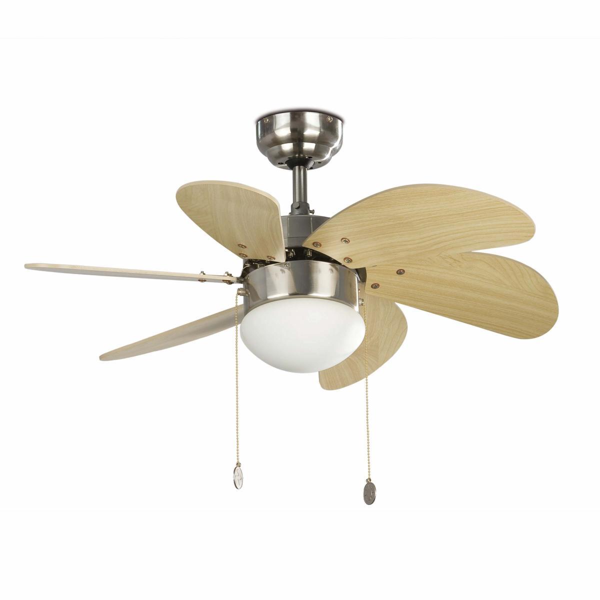 lustre ventilateur de plafond faro palao 33183