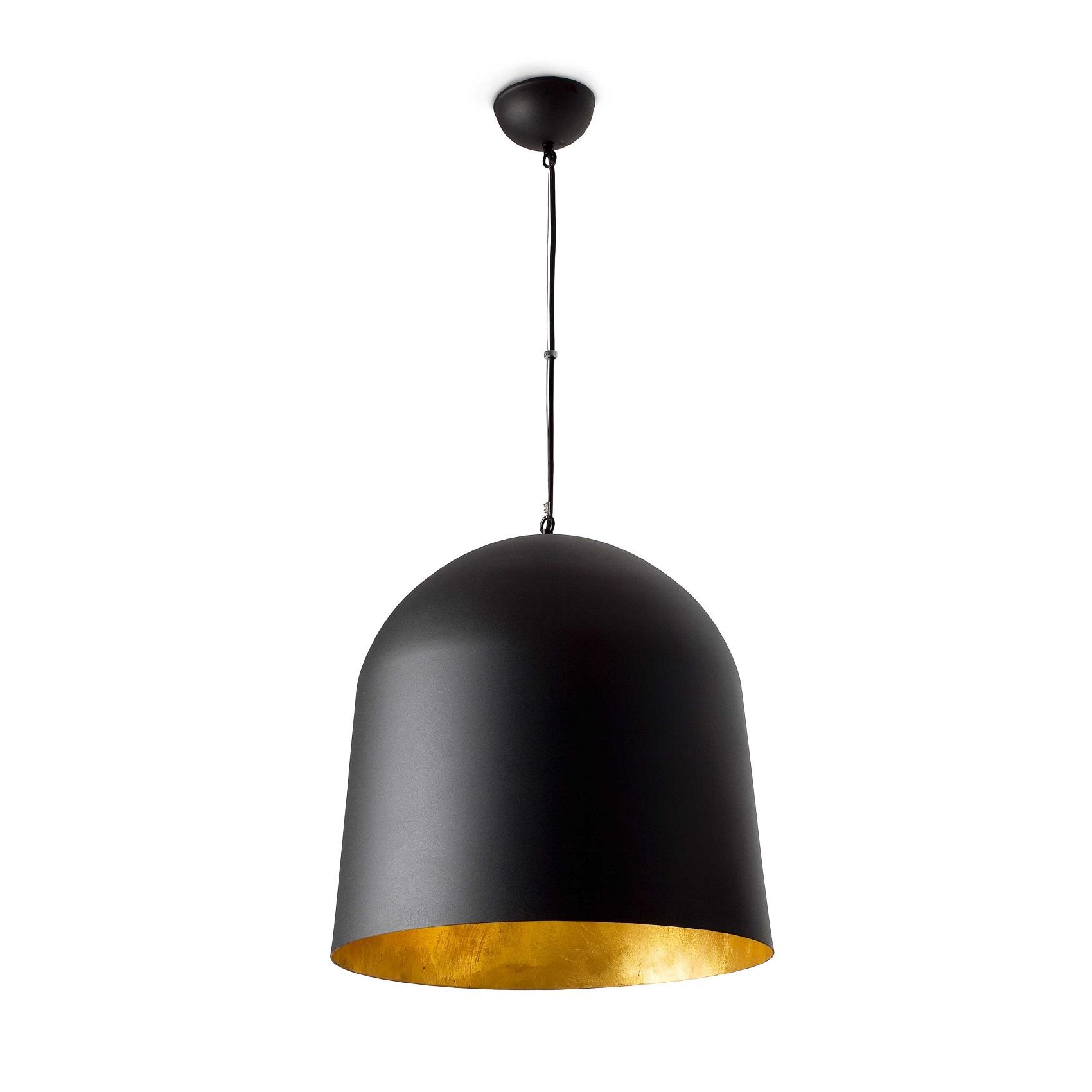 suspension crater noir or faro. Black Bedroom Furniture Sets. Home Design Ideas