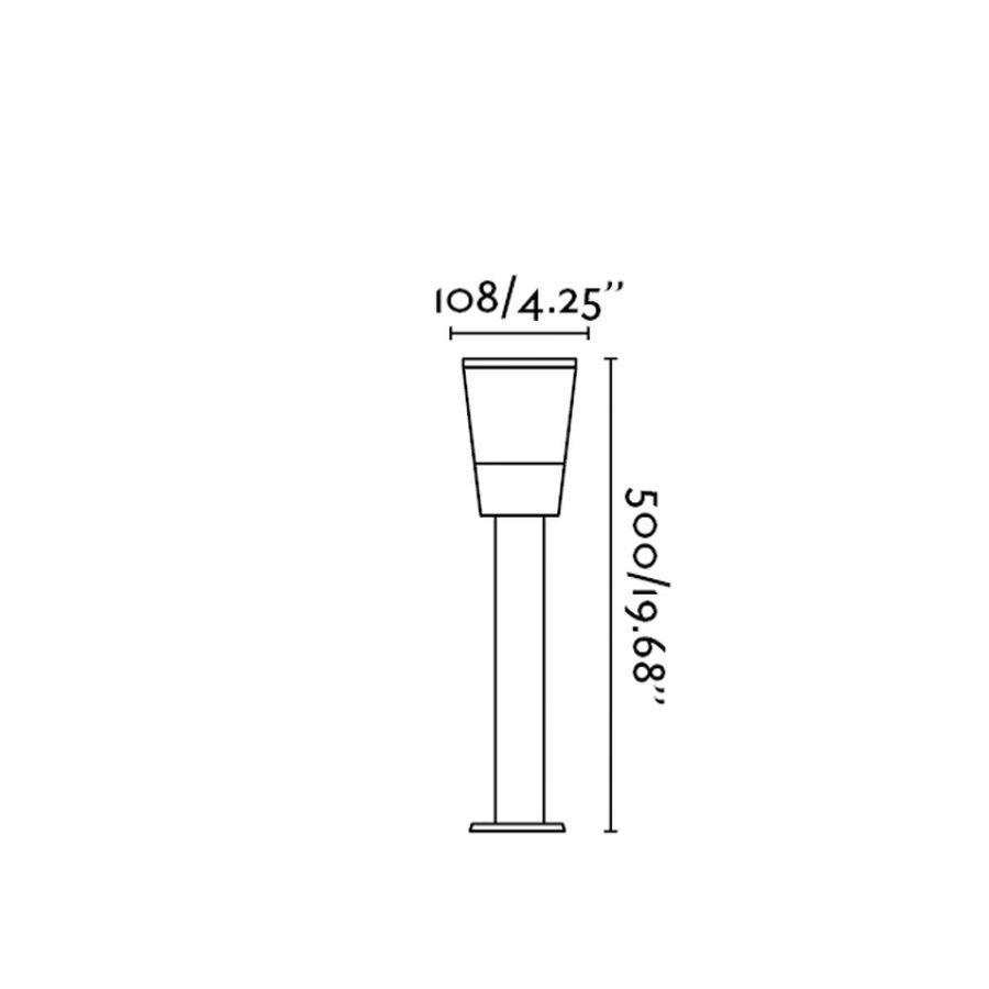 Borne lumineuse ext rieure roy faro ip44 72351 - Borne lumineuse exterieure ...