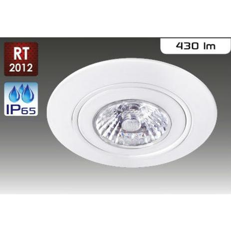 spot led rt2012 ip65 aric 6w 38 blanc chaud 220v 50260 air block. Black Bedroom Furniture Sets. Home Design Ideas