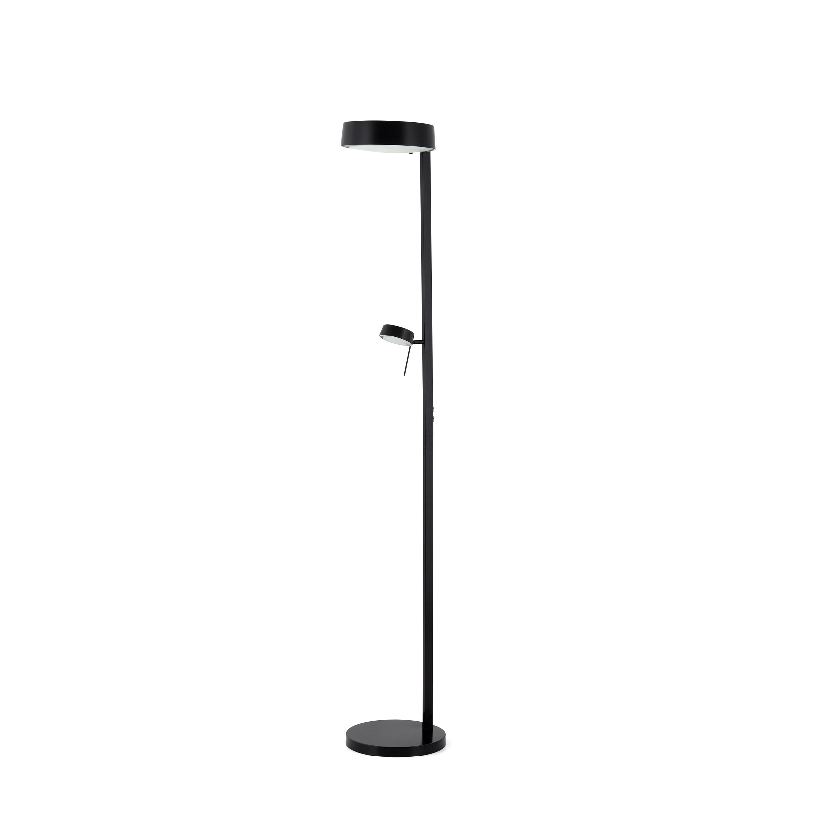 Lampadaire design int rieur nexo faro noir for Lampadaire interieur design