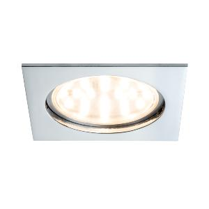 Spot LED IP44 encastrable fixe 14W 230V chromé IP44 PAULMANN.